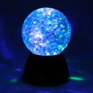 Sensory Glitter Waterball Lamp 6