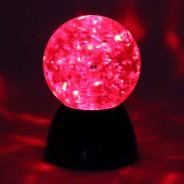 Sensory Glitter Waterball Lamp 4