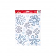 Glitter Snowflake Window Sticker 2