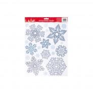 Glitter Snowflake Window Sticker 3