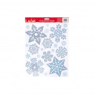 Glitter Snowflake Window Sticker 4