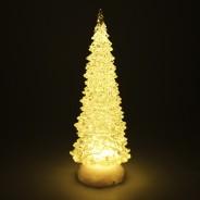 Glitter Water Spinner Christmas Tree  1