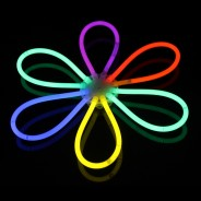 Glow Bracelets 5 Glow flower made with one ball connector
