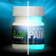 Glow in the Dark Paint 30ml 3 Aqua