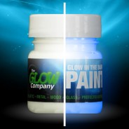Glow in the Dark Paint 30ml 2 Blue