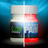 Glow in the Dark Paint 30ml 7 Red