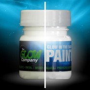 Glow in the Dark Paint 30ml 4 White