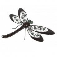 Glow Dragonfly Wall Art 3