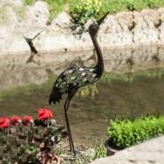 Glow Garden Heron 1
