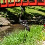 Glow Garden Heron 3