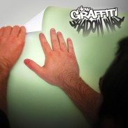 Glow Graffiti Shadow Wall 6