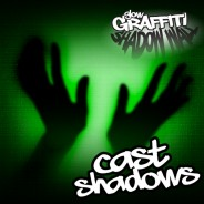 Glow Graffiti Shadow Wall 2