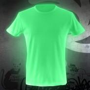 Glow Graffi T Tee Shirt 4