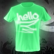 Glow Graffi T Tee Shirt 1
