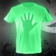 Glow Graffi T Tee Shirt 2