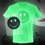 Glow Graffi T Tee Shirt 3