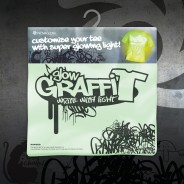 Glow Graffi T Tee Shirt 7