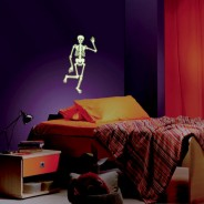 Glow Human Skeleton Sticker 1