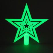 Glow in the Dark Tree Topper Star 1