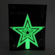 Glow in the Dark Tree Topper Star 4