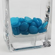 Glow Pebbles - Blue 6