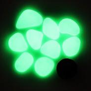 Glow Pebbles - Green 5