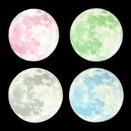 Medium Glow Moon Sticker Pack 2