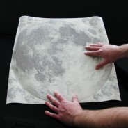 Large/XL Glow Moon Light Wall Stickers 3 Large glow moonlight sticker