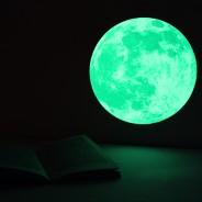 Medium Glow Moon Sticker Pack 1