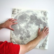 Large/XL Glow Moon Light Wall Stickers 5 Large glow moonlight sticker