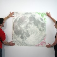 Large/XL Glow Moon Light Wall Stickers 6 Extra large glow moonlight sticker