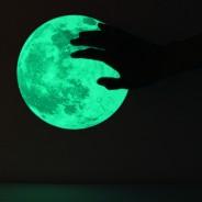 Medium Glow Moon Sticker Pack 3