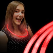 Glow Necklaces 7 Red glow necklaces