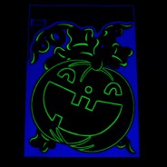 Glow Pumpkin Window Stickers 3