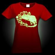 Glow Campervan T-Shirt 2