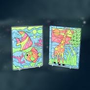 Glow Window Art 4