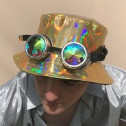 Gold Holographic Hat 1