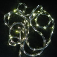 Mesh LED Rope Light 2 Black