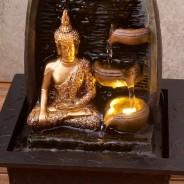 Golden Buddha Water Fountain 4
