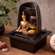 Golden Buddha Water Fountain 3