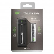 GP Lithium ION Battery Charger 18650 3