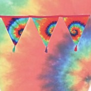 Groovy Baby Tie Dye Bunting 1