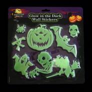 Halloween Glow in the Dark Wall Stickers (Single) 2