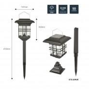 Solar Garden Lantern - Hang, Stand or Fix 9