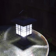 Solar Garden Lantern - Hang, Stand or Fix 3 Standing
