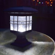 Solar Garden Lantern - Hang, Stand or Fix 1 Standing