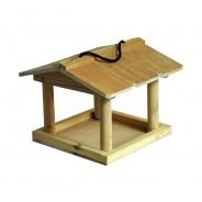 Hanging Wooden Bird Table 2