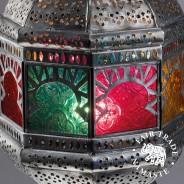 Large Colourful Hanging Lantern 2