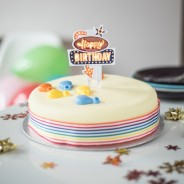 Happy Birthday Flashing Cake Topper 3