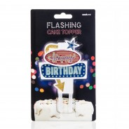 Happy Birthday Flashing Cake Topper 7